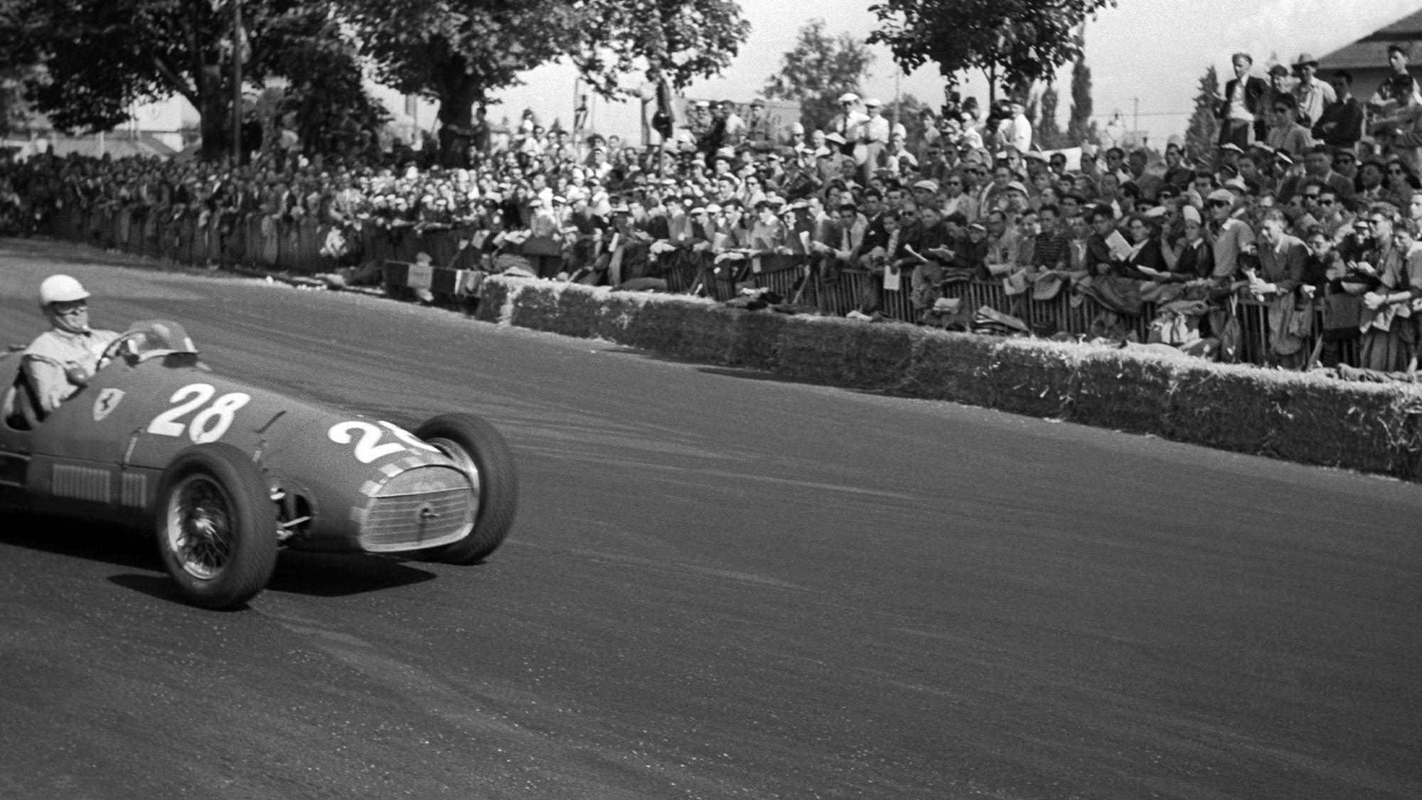 Guiseppe Farina Ferrari 1952 Swiss GP Bremgarten