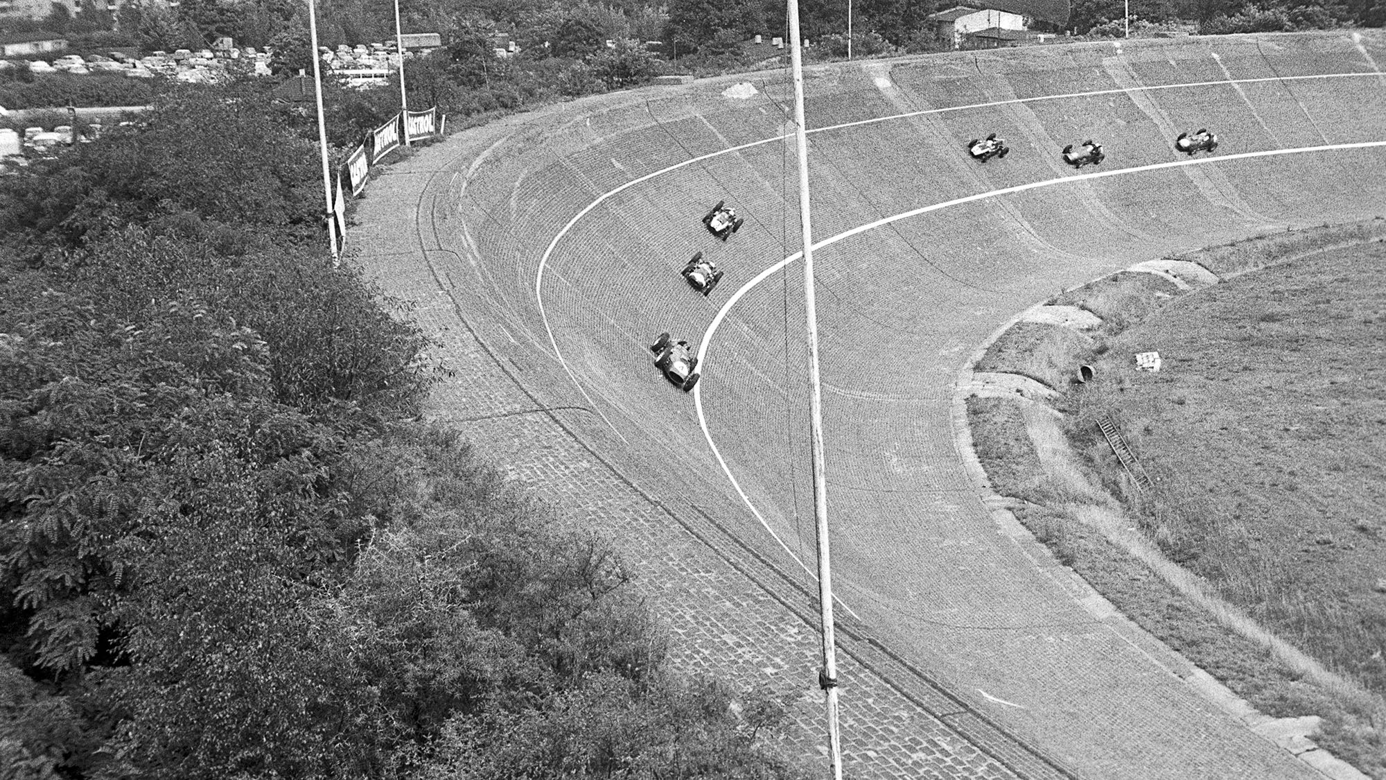 AVUS 1959 German GP Tony Brooks Ferrari
