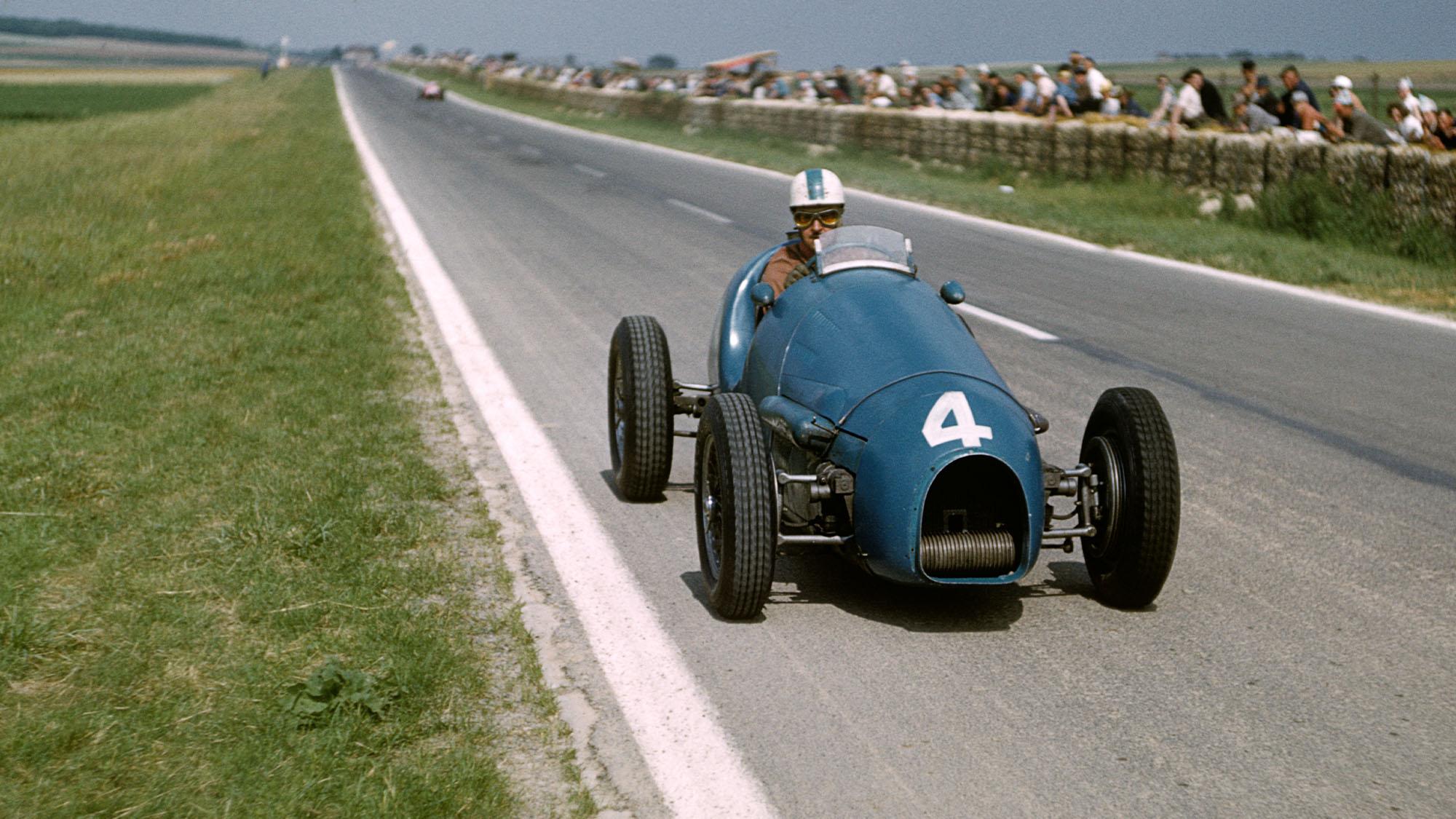 Maurice Trintignant Reims French Grand Prix 1953