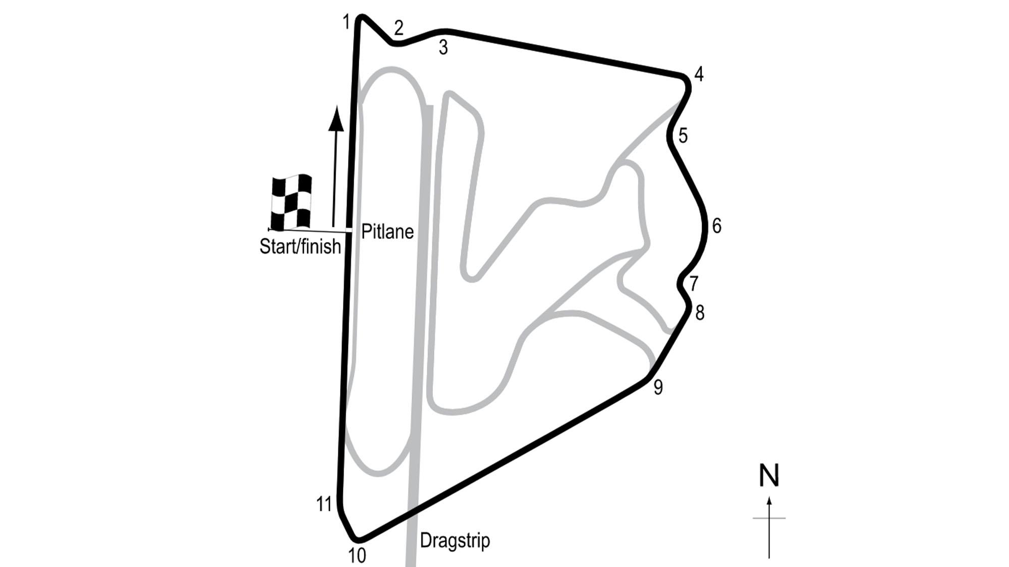 Bahrain oval