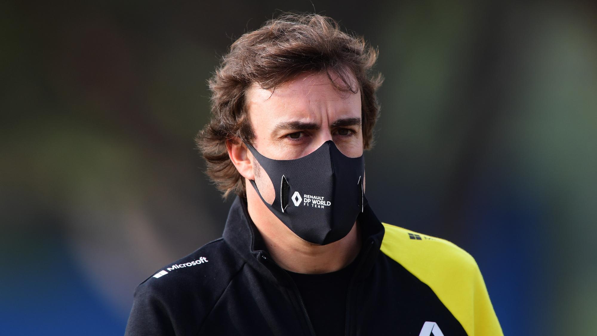 Fernando Alonos, Renault F1 2020