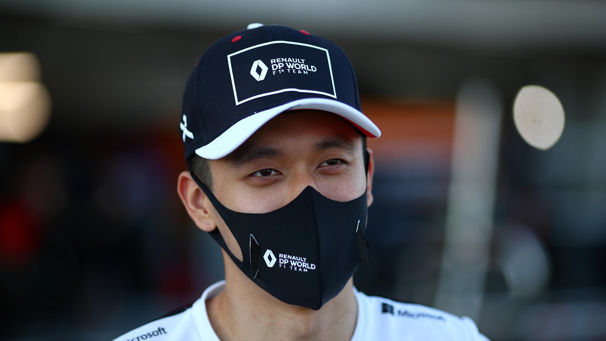 Guanyu Zhou, 2020 UNI Virtuosi Racing