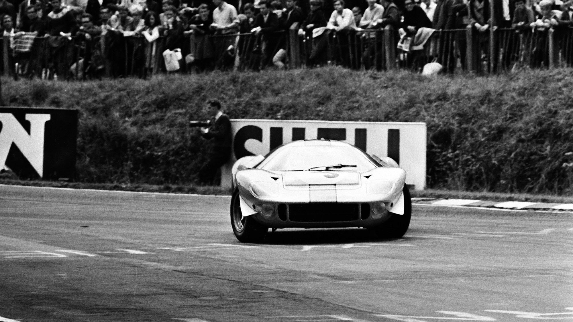 Mirage M1 at Brands Hatch in 1967