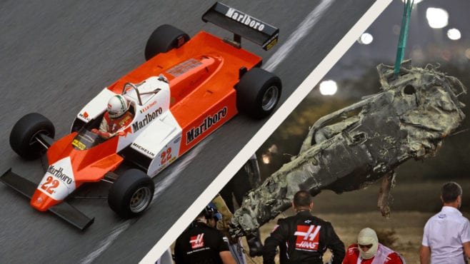 The man who pioneered carbon fibre F1 cars: still saving lives today