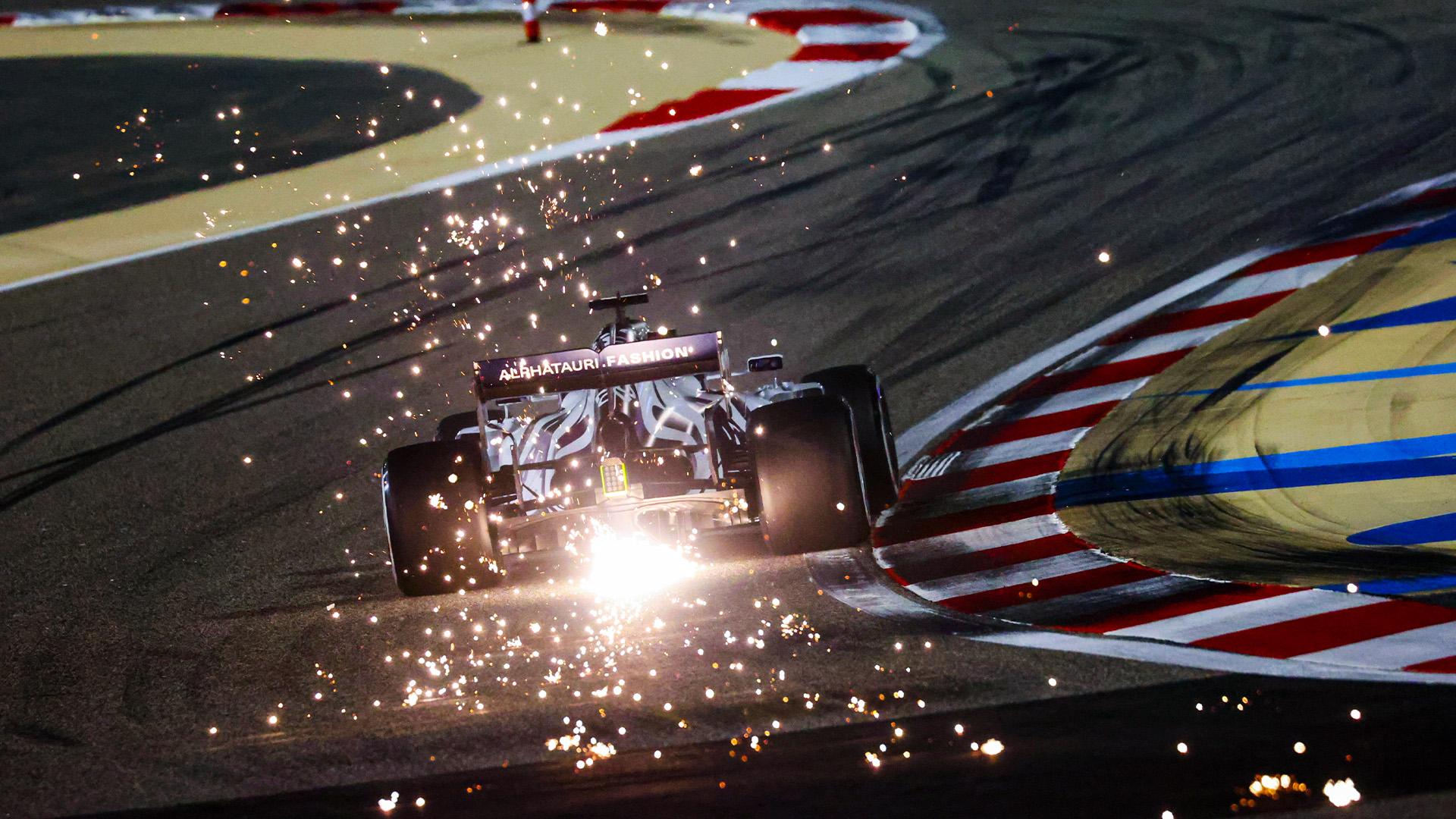 Daniil Kvyat during qualifying for the 2020 F1 Sakhir Grand Prix