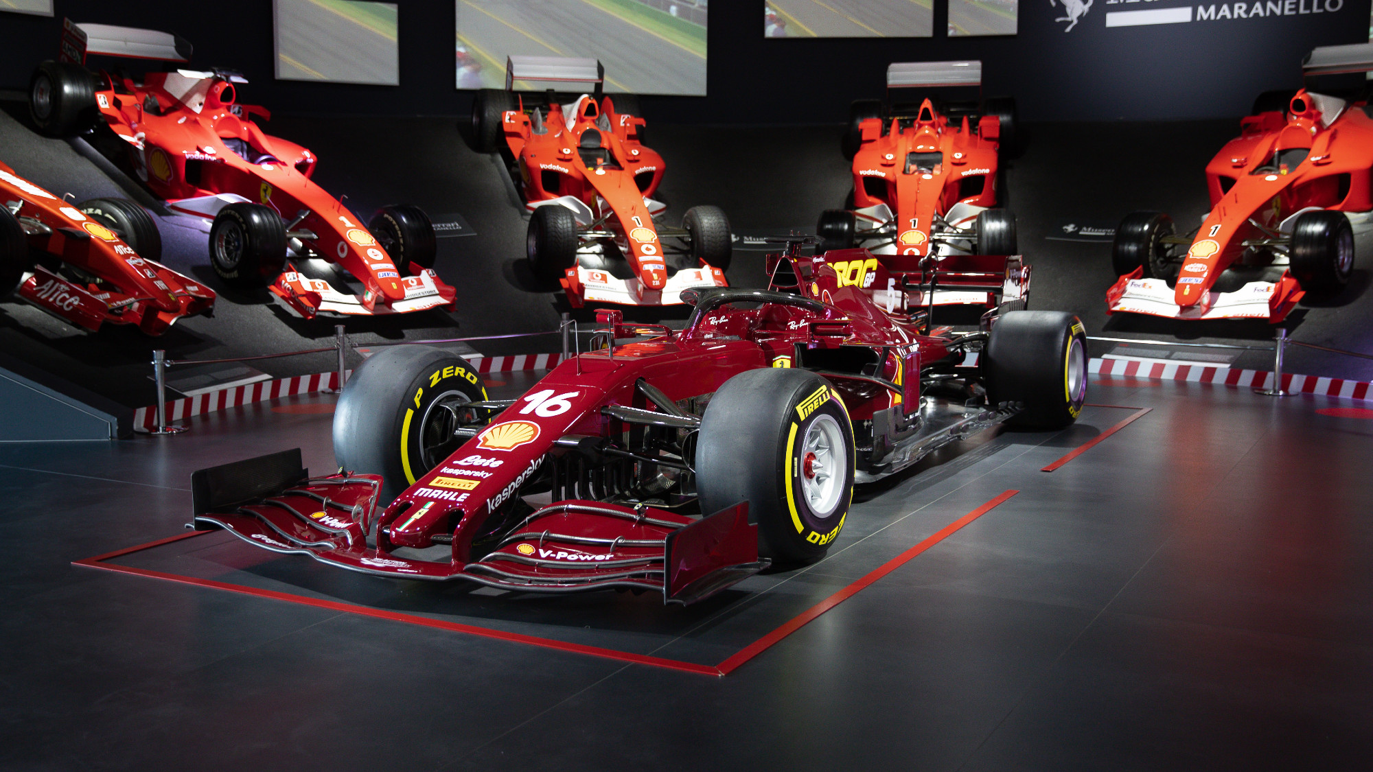 Replica 2020 Ferrari F1 car sells for £1.15m. Engine not included