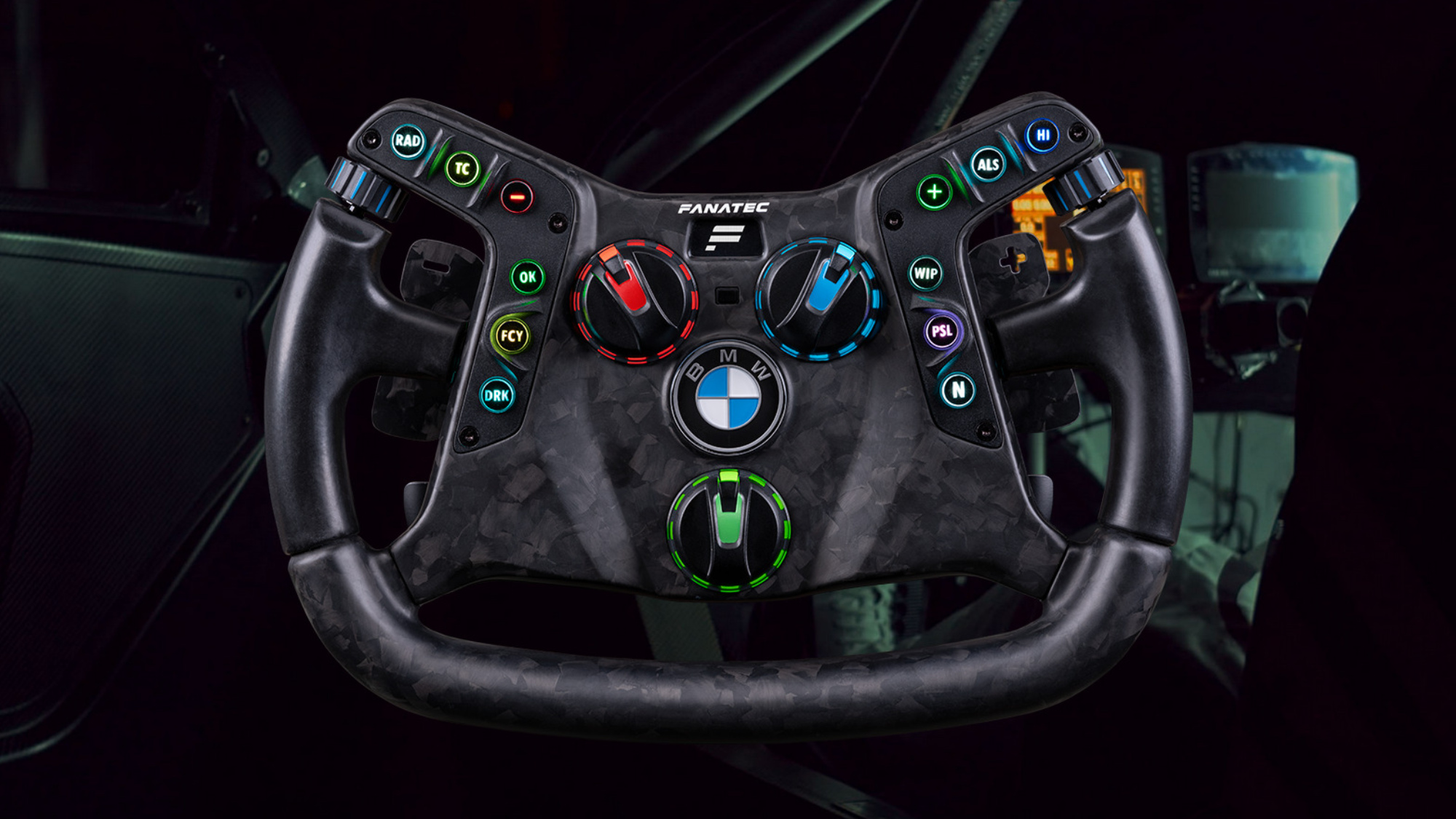 BMW creates sim wheel you can take off and use in your racing car
