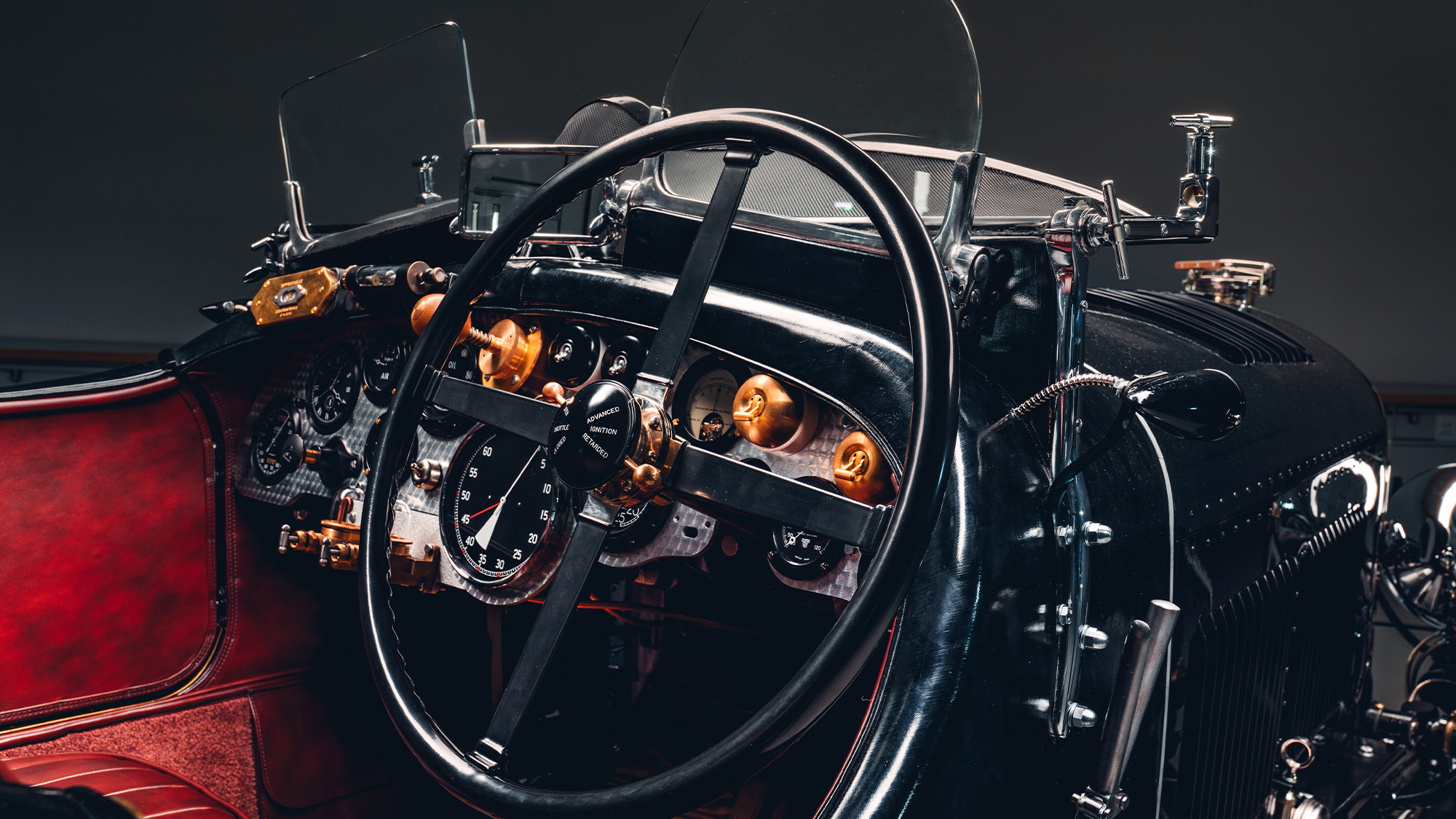 Bentley Blower Continuation dashboard
