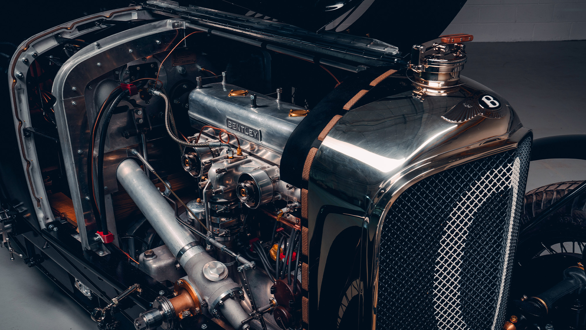 Bentley Blower Continuation engine