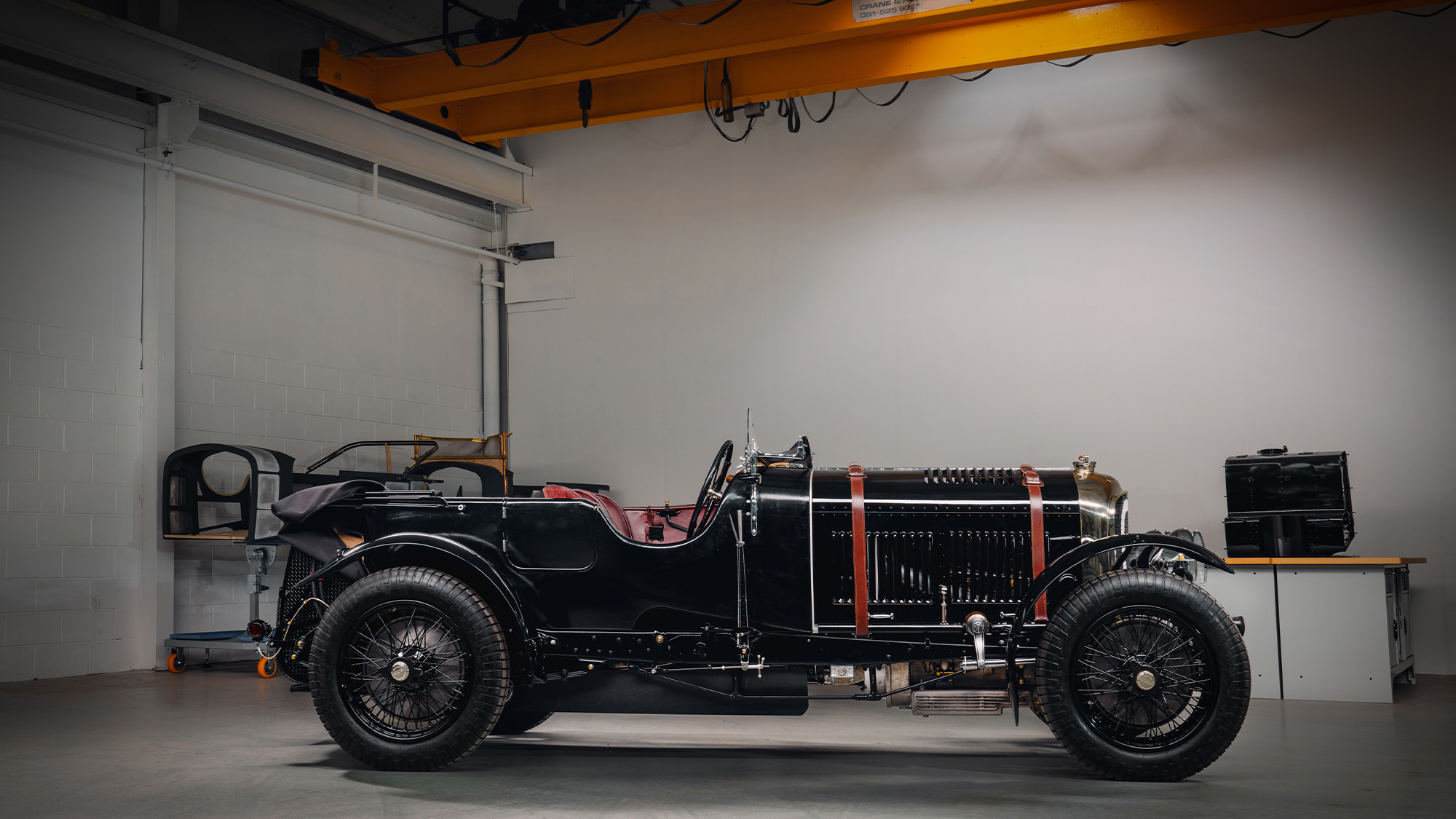 Bentley Blower Continuation side