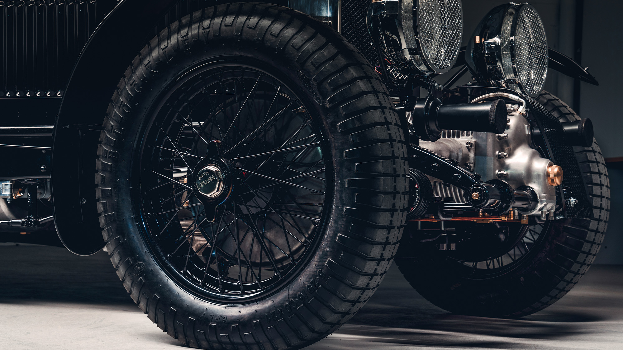 Bentley Blower Continuation wheels