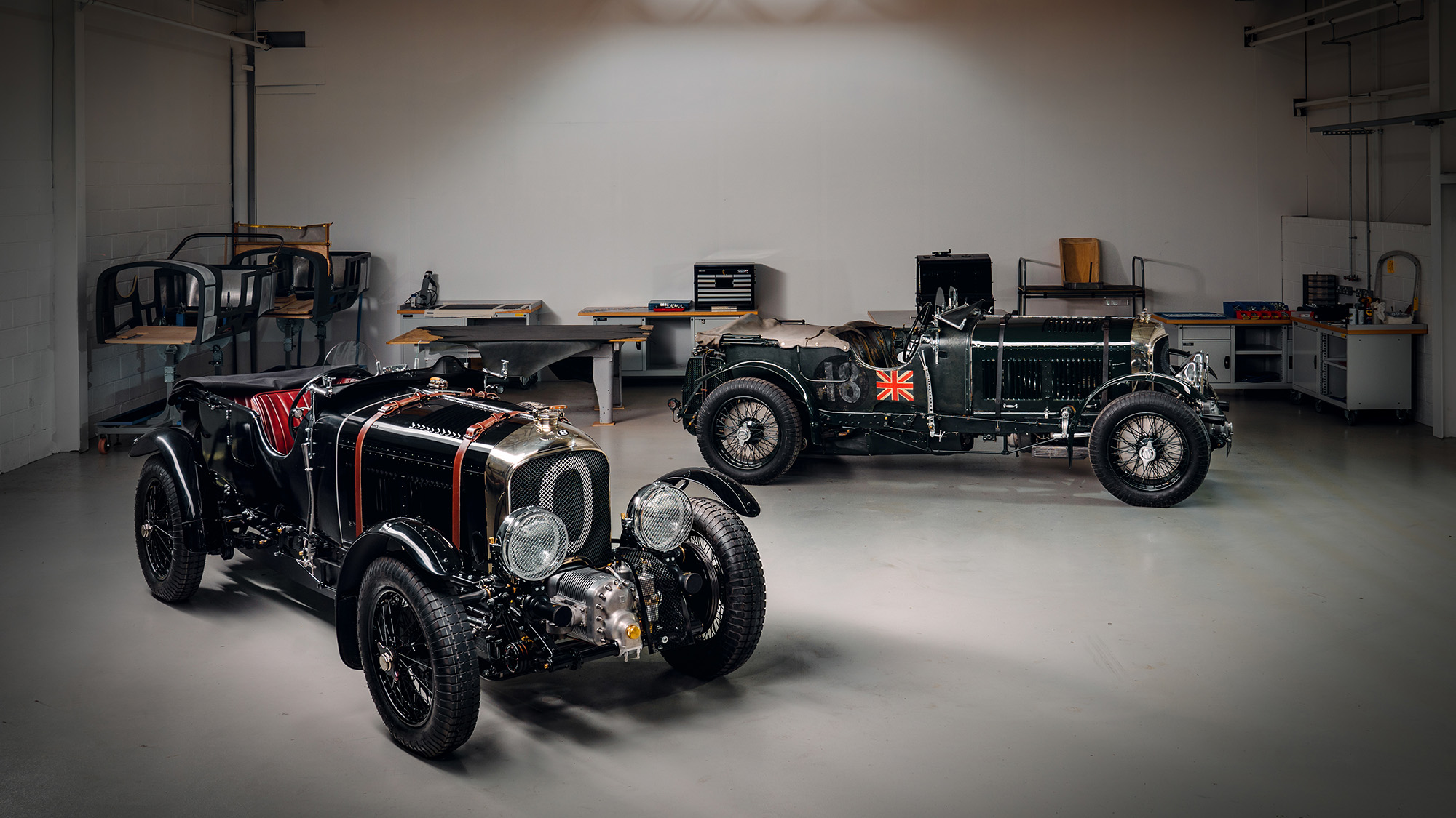 Bentley Blower Continuation with Birkin original
