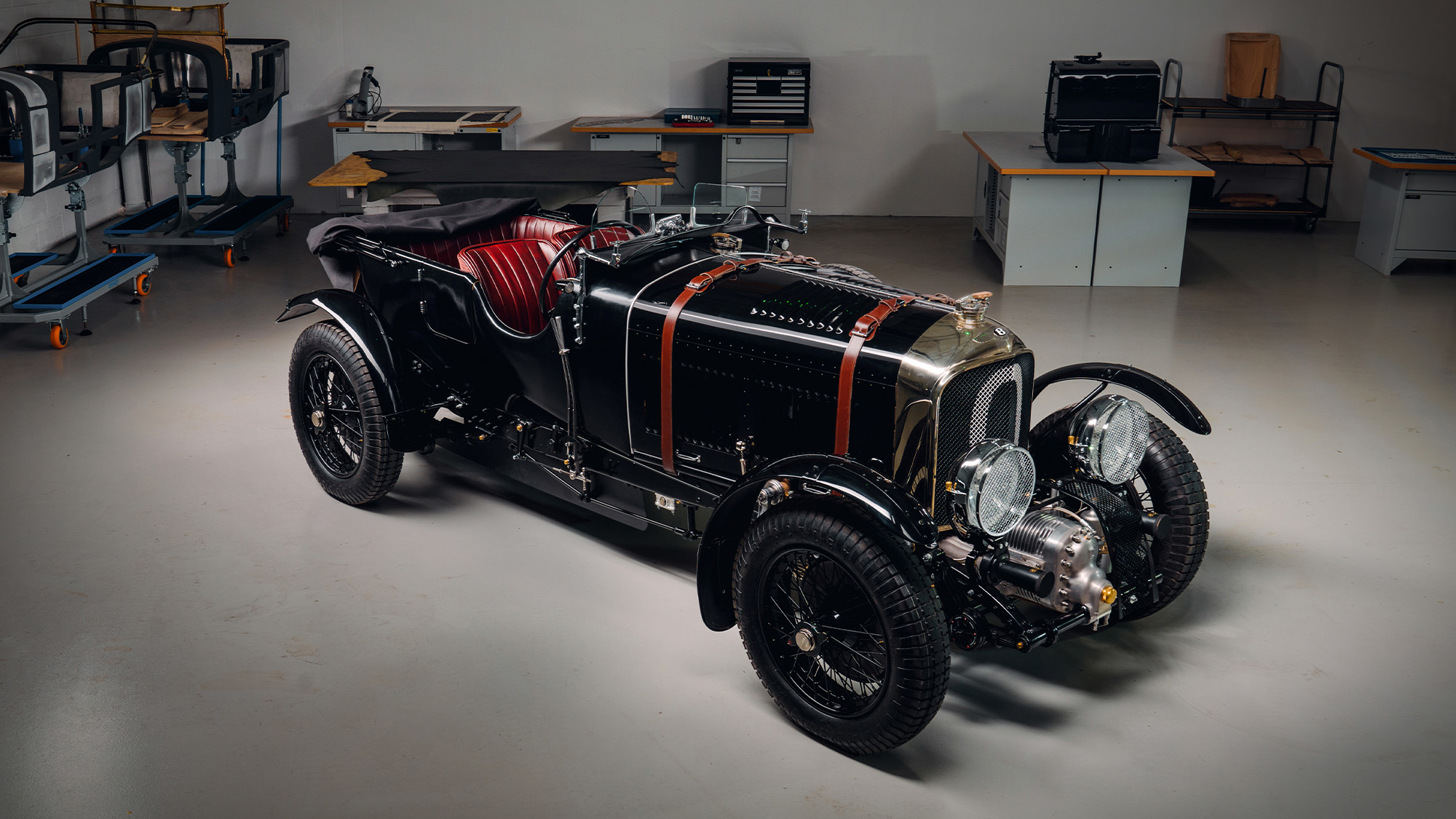 First new Bentley Blower Continuation built to 1929 design