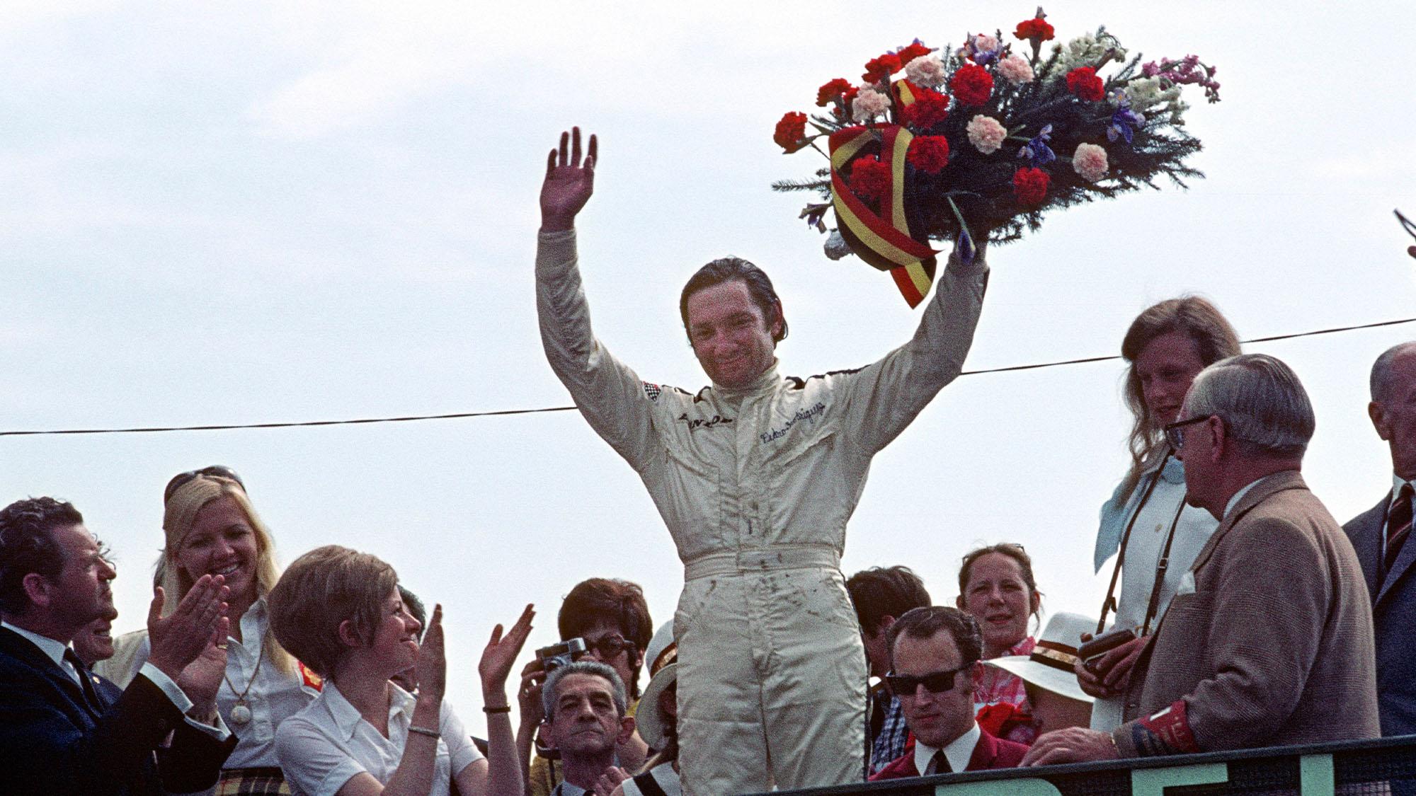 Pedro Rodriguez BRM 1970 Belgium Grand Prix Spa-Francorchamps