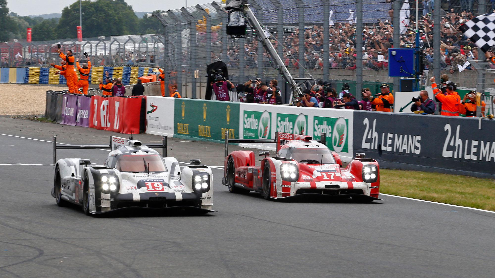 Porsche 2015 Le Mans