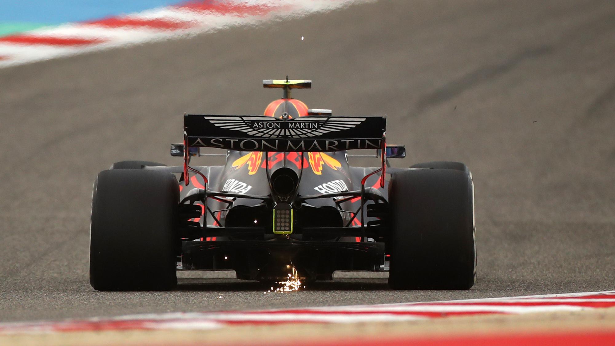 Red Bull rear view 2020 Sakhir Grand Prix