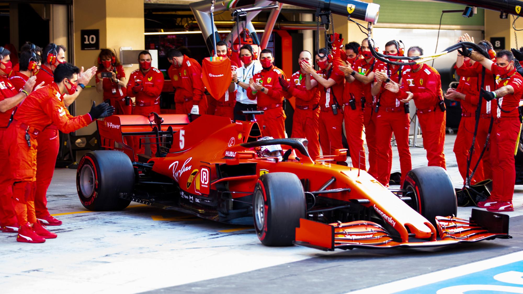 Sebastian Vettel, 2020 Abu Dhabi GP