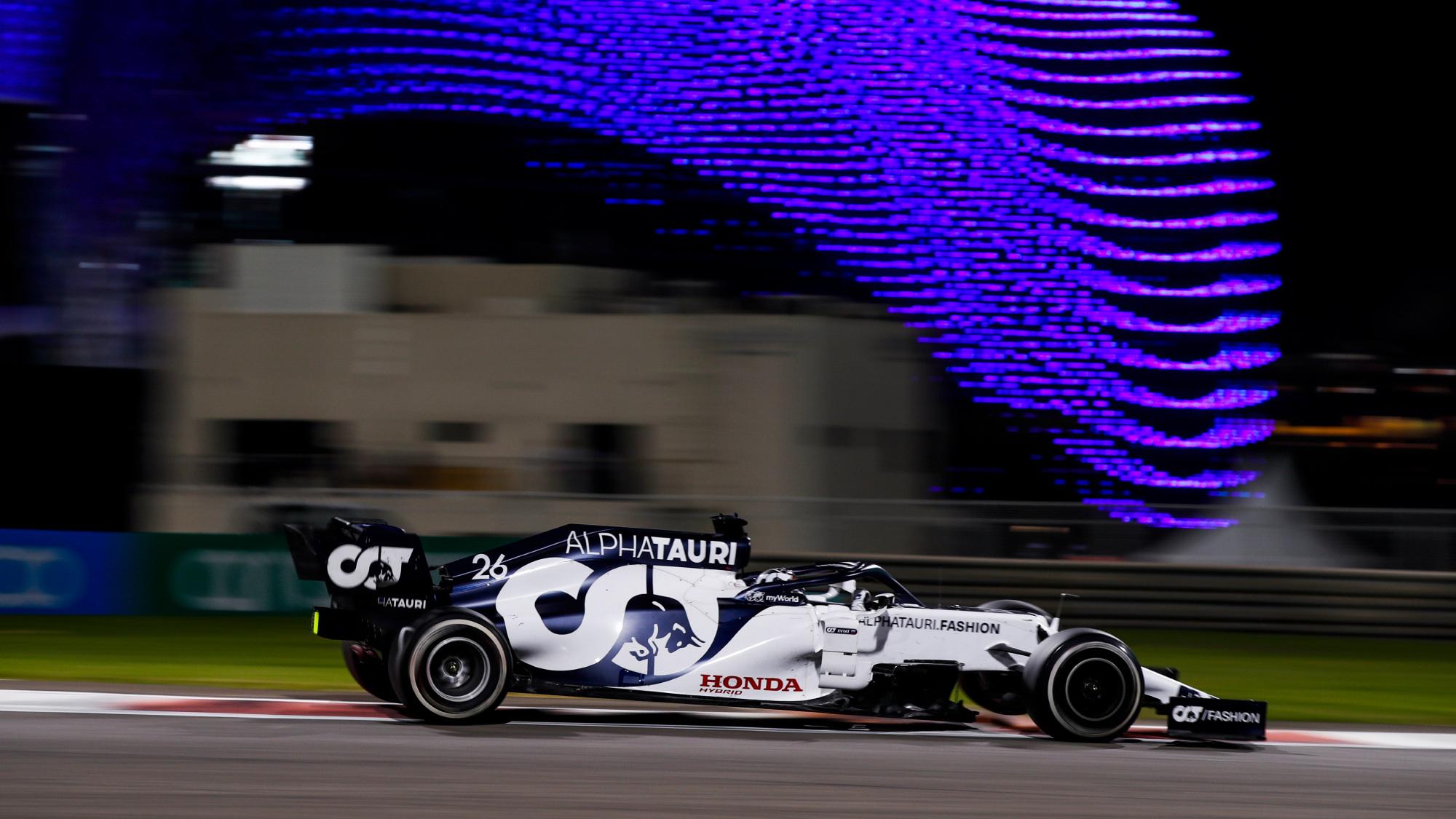 Daniil Kvyat, 2020 Abu Dhabi GP