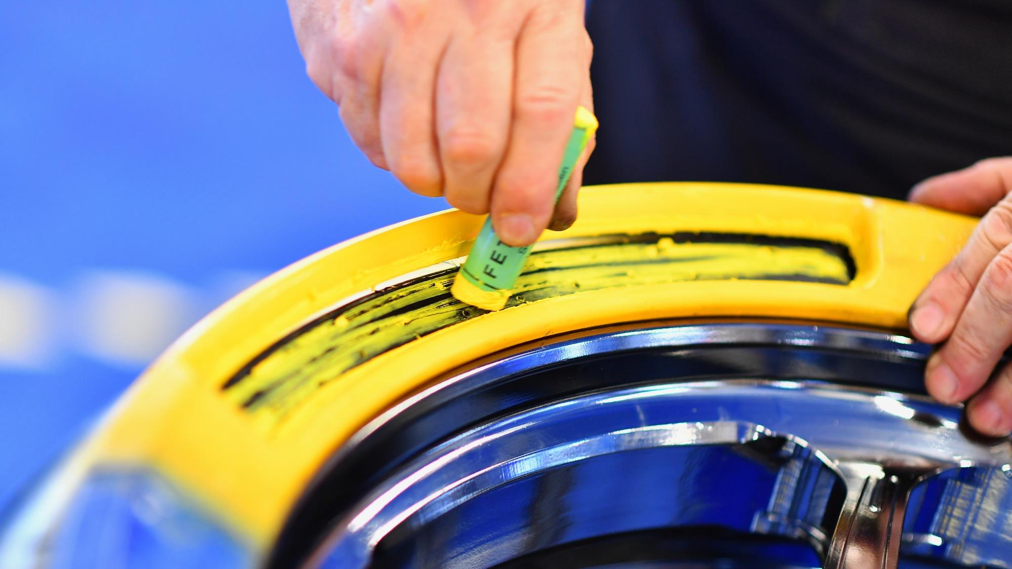 Michelin rear slick, MotoGP 2020