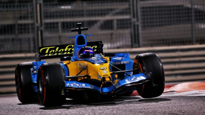 Alonso: '2005 Renault was built for demo laps… they weren't expecting me to push it!'