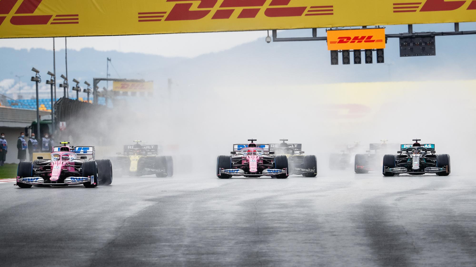 2020 Turkish GP start