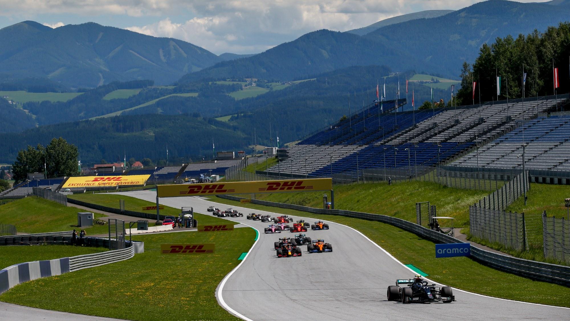 2020 Austrian GP start