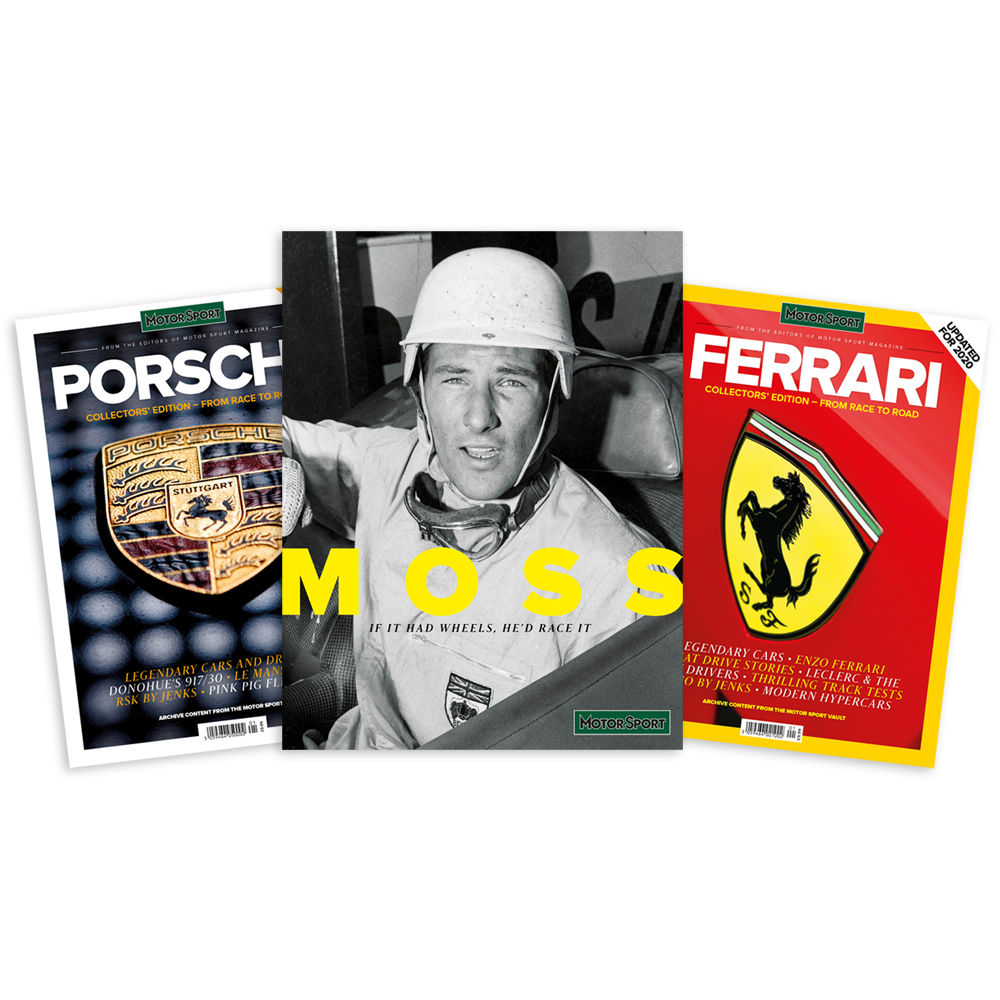 Product image for Specials Bundle | Motor Sport Magazine | Collector's Editions