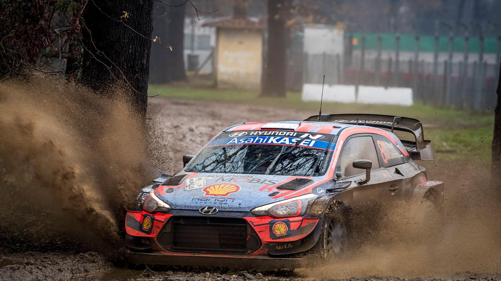 2020 Monza Rally Ott Tanak Hyundai