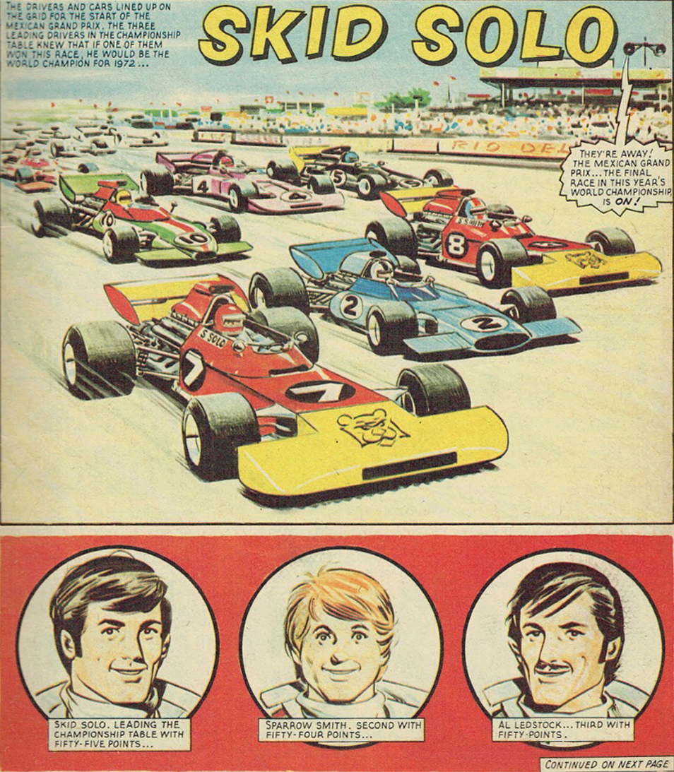 Skid Solo 1972 championship