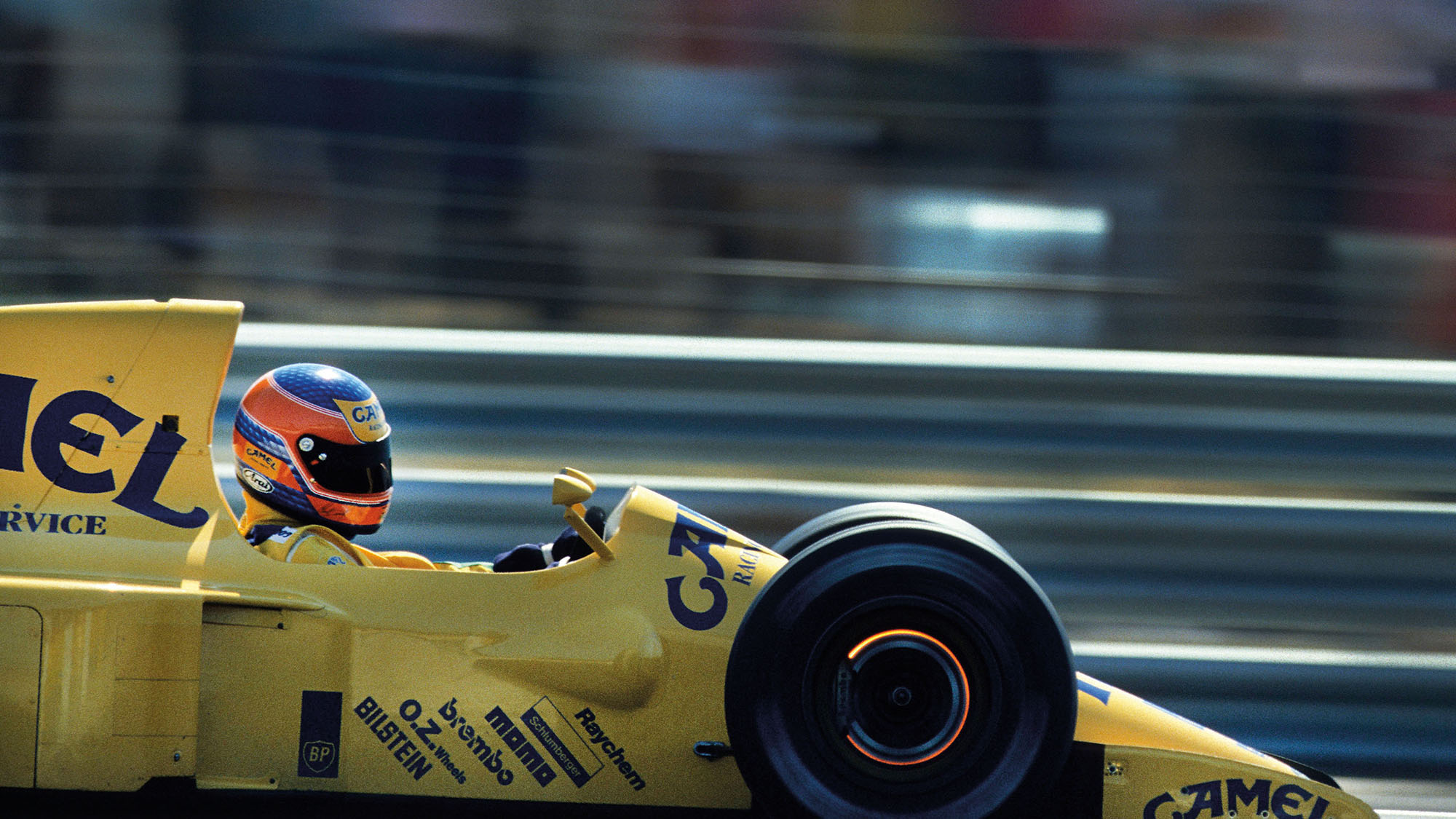 Martin Donnelly Lotus 1990 French Grand Prix Paul Ricard