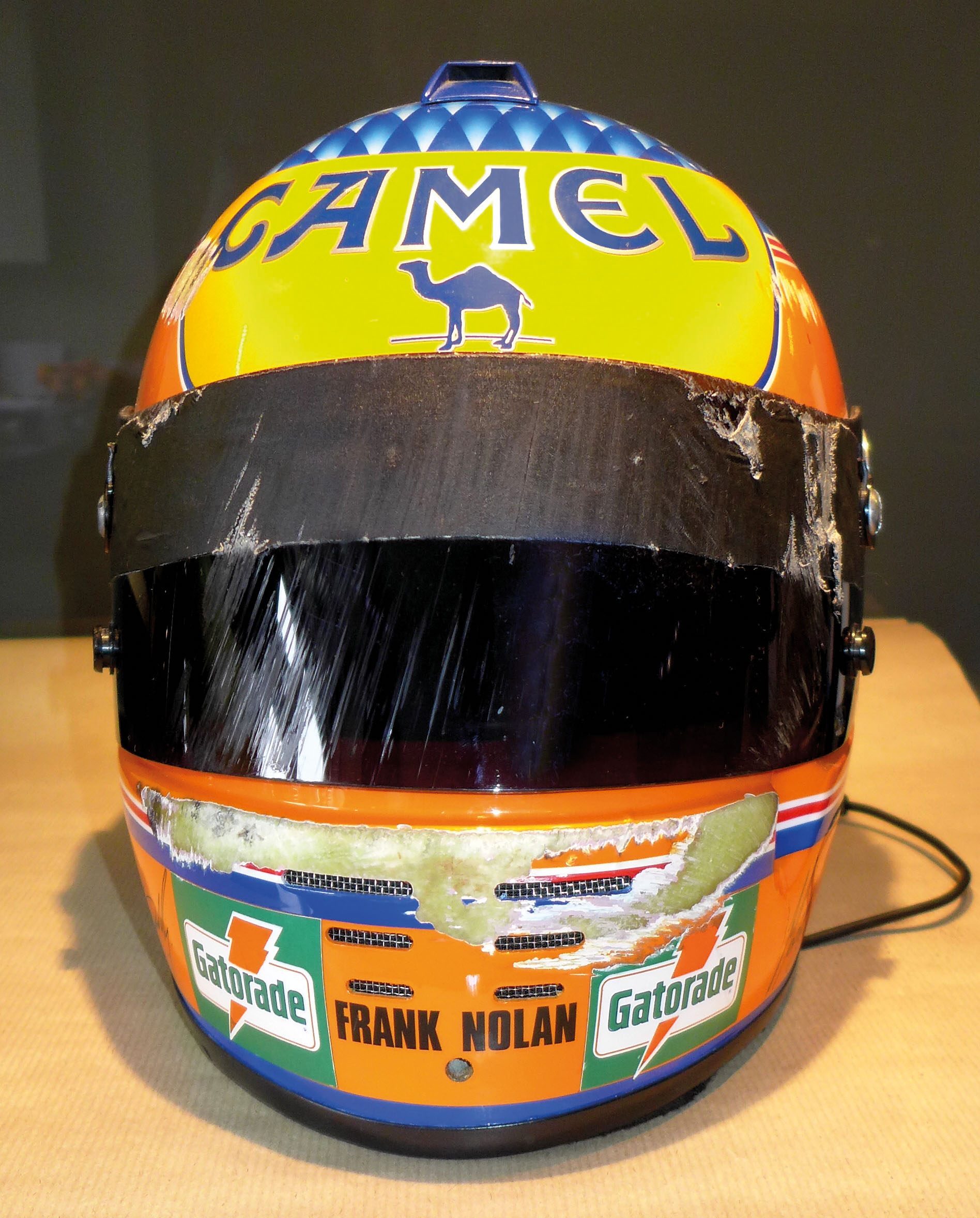 Martin Donnelly Lotus helmet