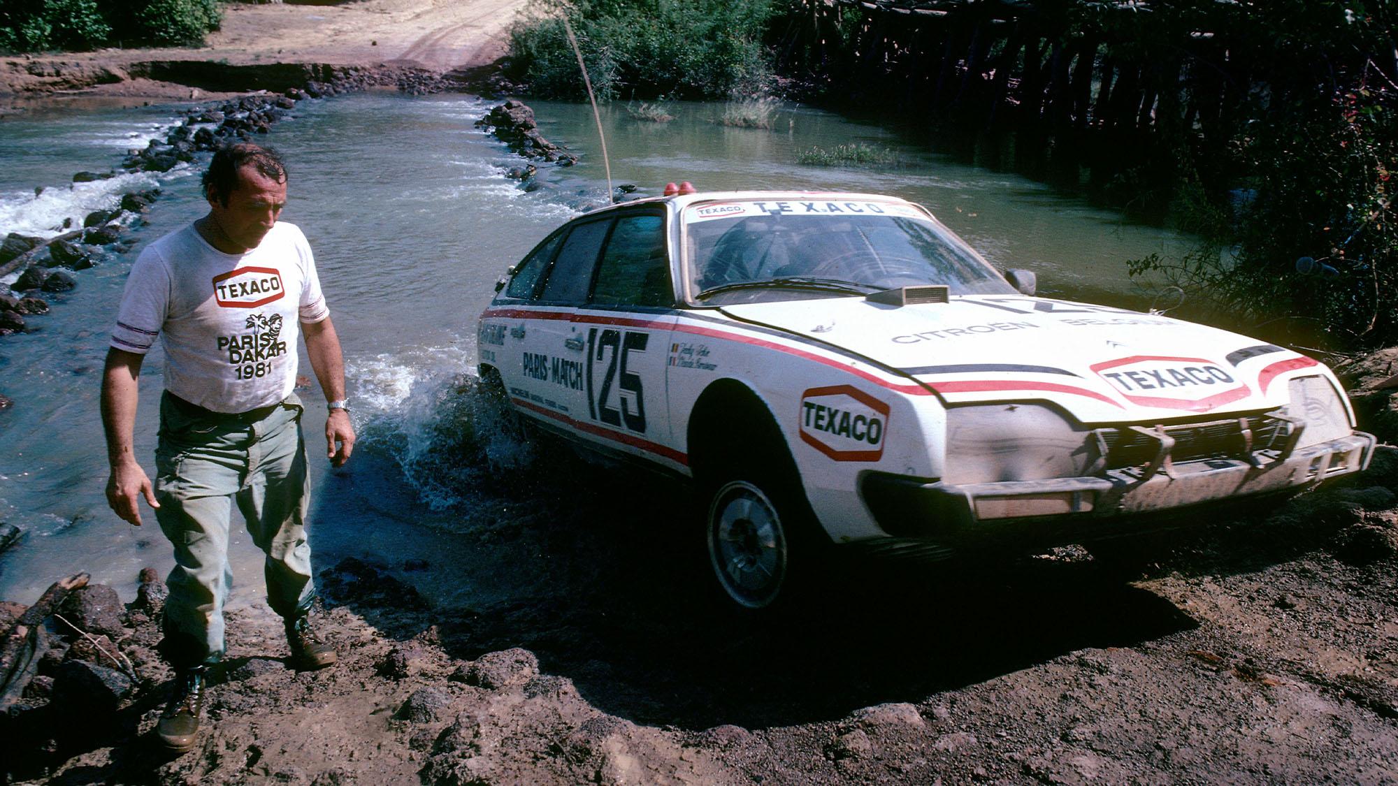 Claude Brasseur Citroën CX 2400 GTI Paris-Dakar Rally 1981