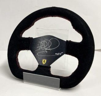 Product image for Ferrari steering wheel | Nigel Mansell signed