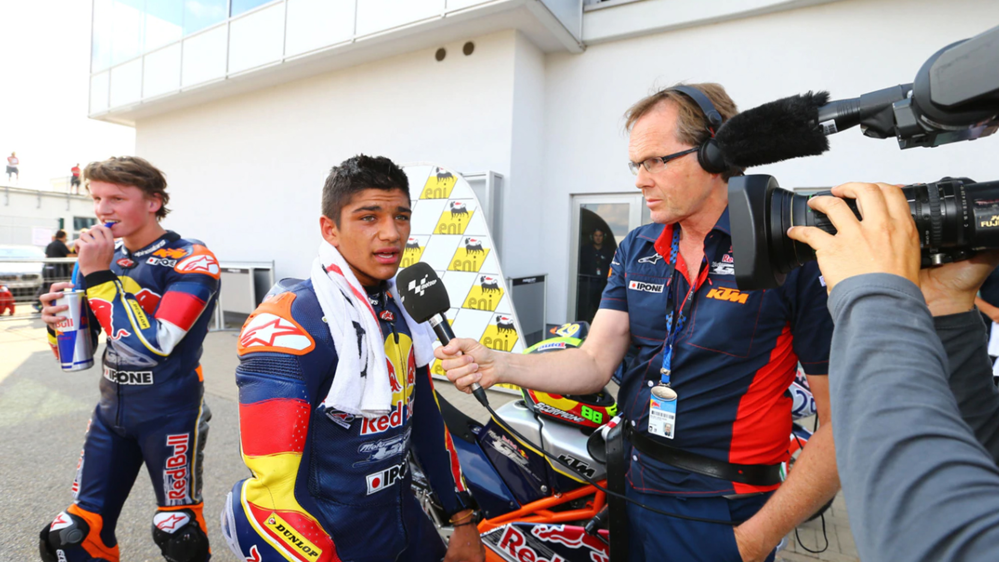 Red Bull Rookie Jorge Martin interviewed in 2013