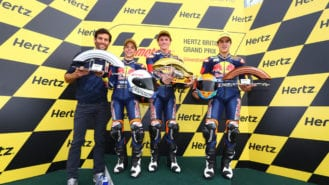 Red Bull Rookies: 'They're all kids and they're all changing'