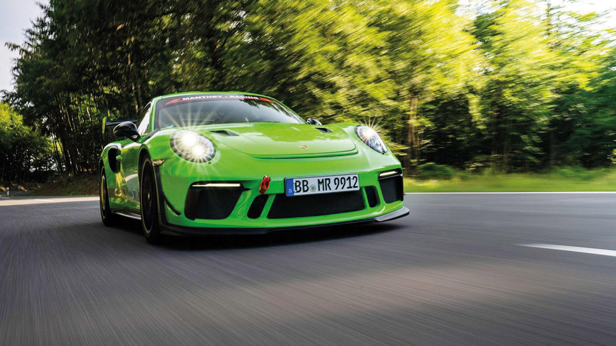2020 Porsche 911 GT3 RS MR