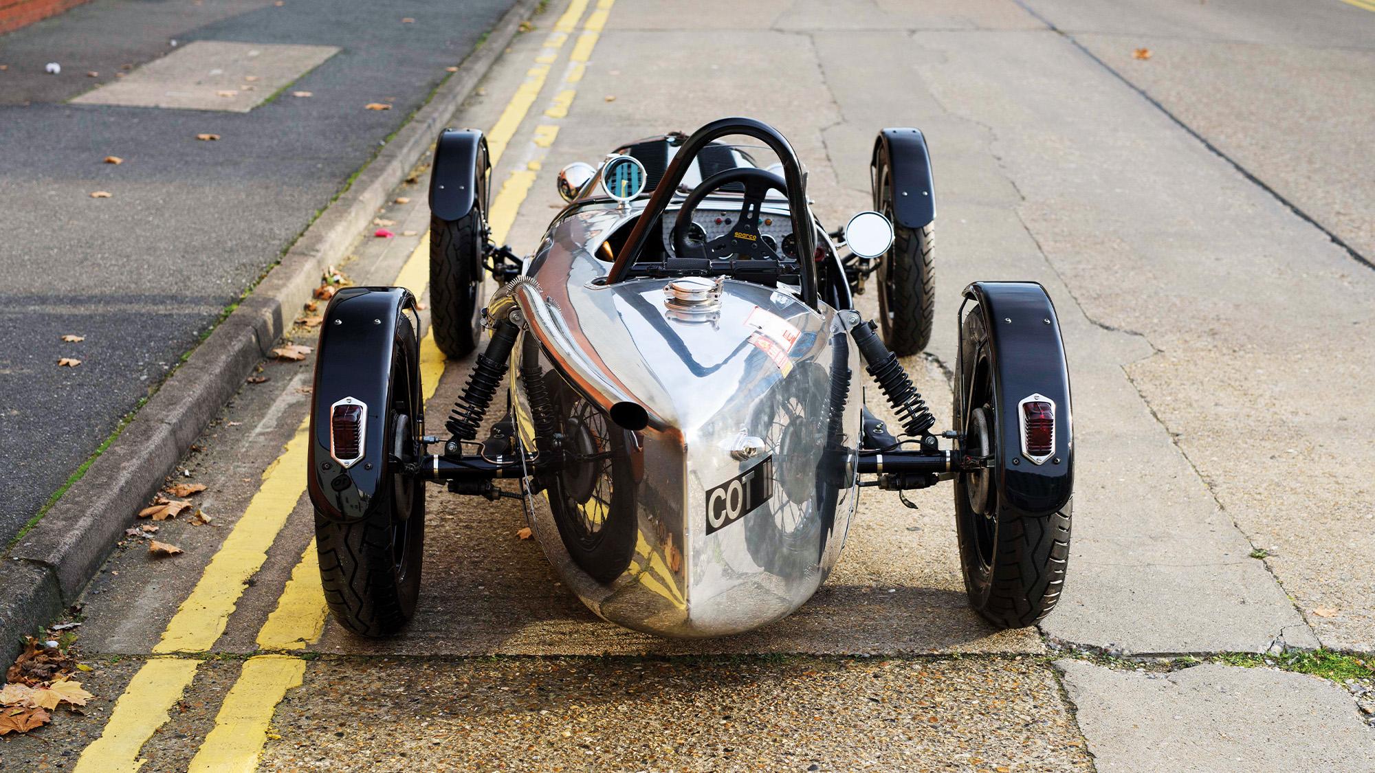 Austin Seven Supercharged rear