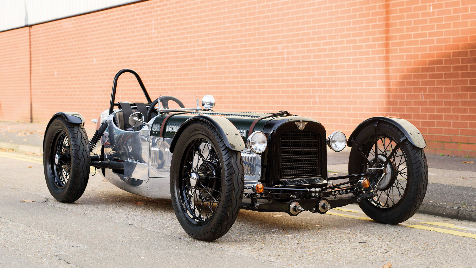 Austin Seven Supercharged front