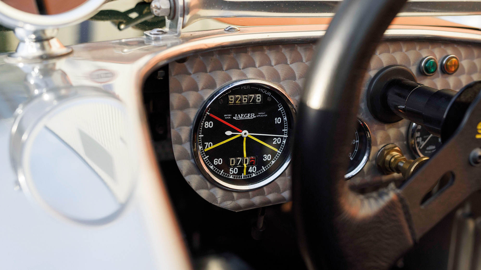 Austin Seven Supercharged dial