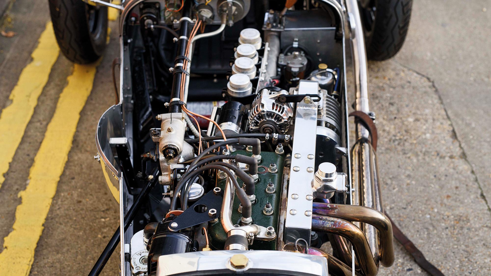 Austin Seven Supercharged engine