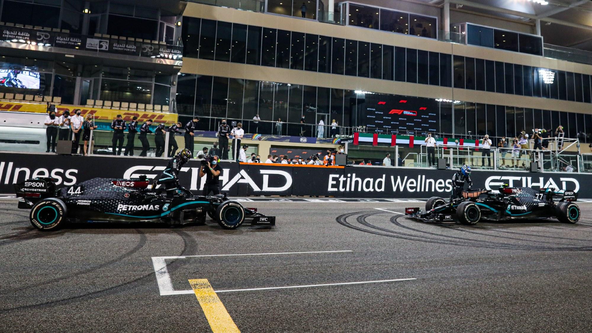 Mercedes, GP de Abu Dabi 2020