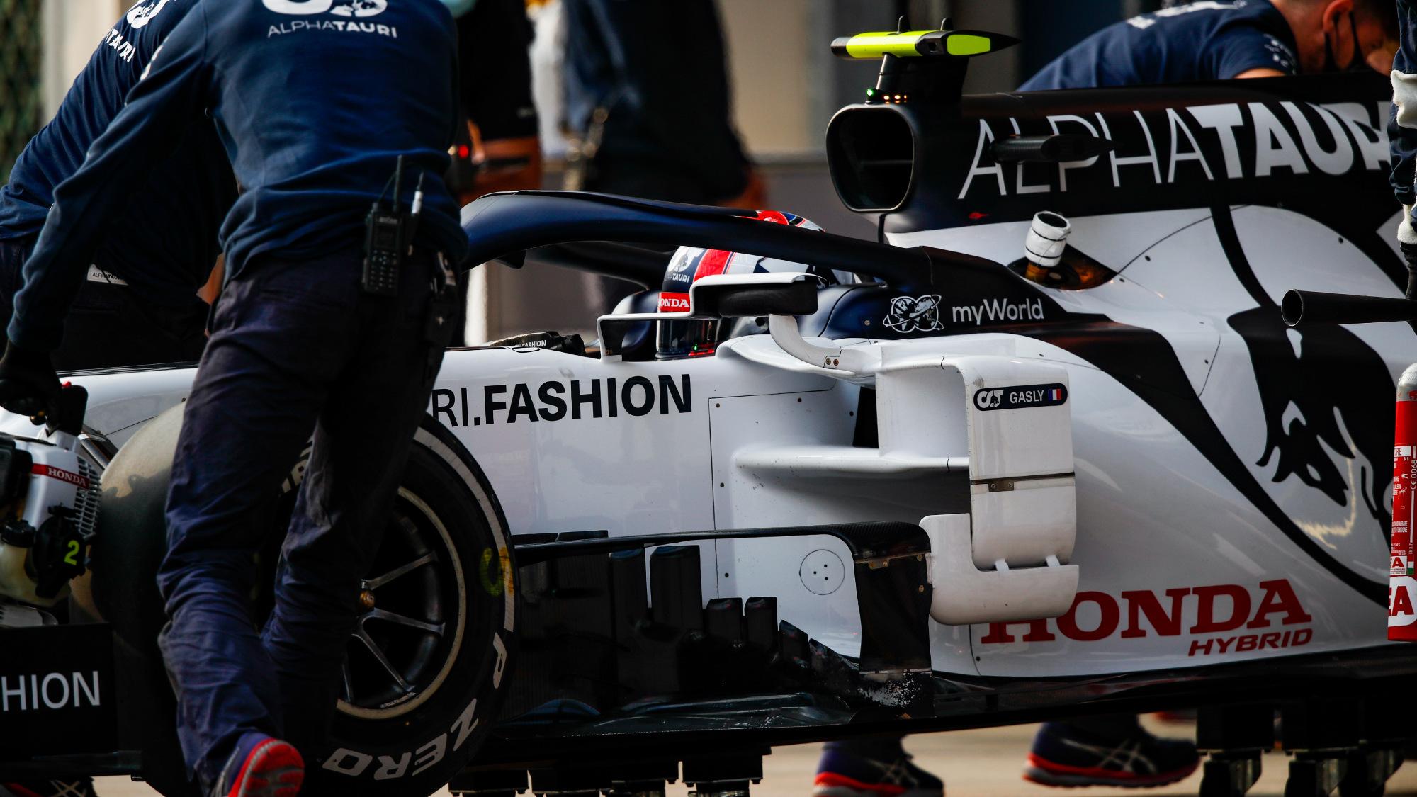 Pierre Gasly, 2020 Turkish GP