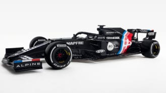 Alpine reveals new F1 livery and electric future