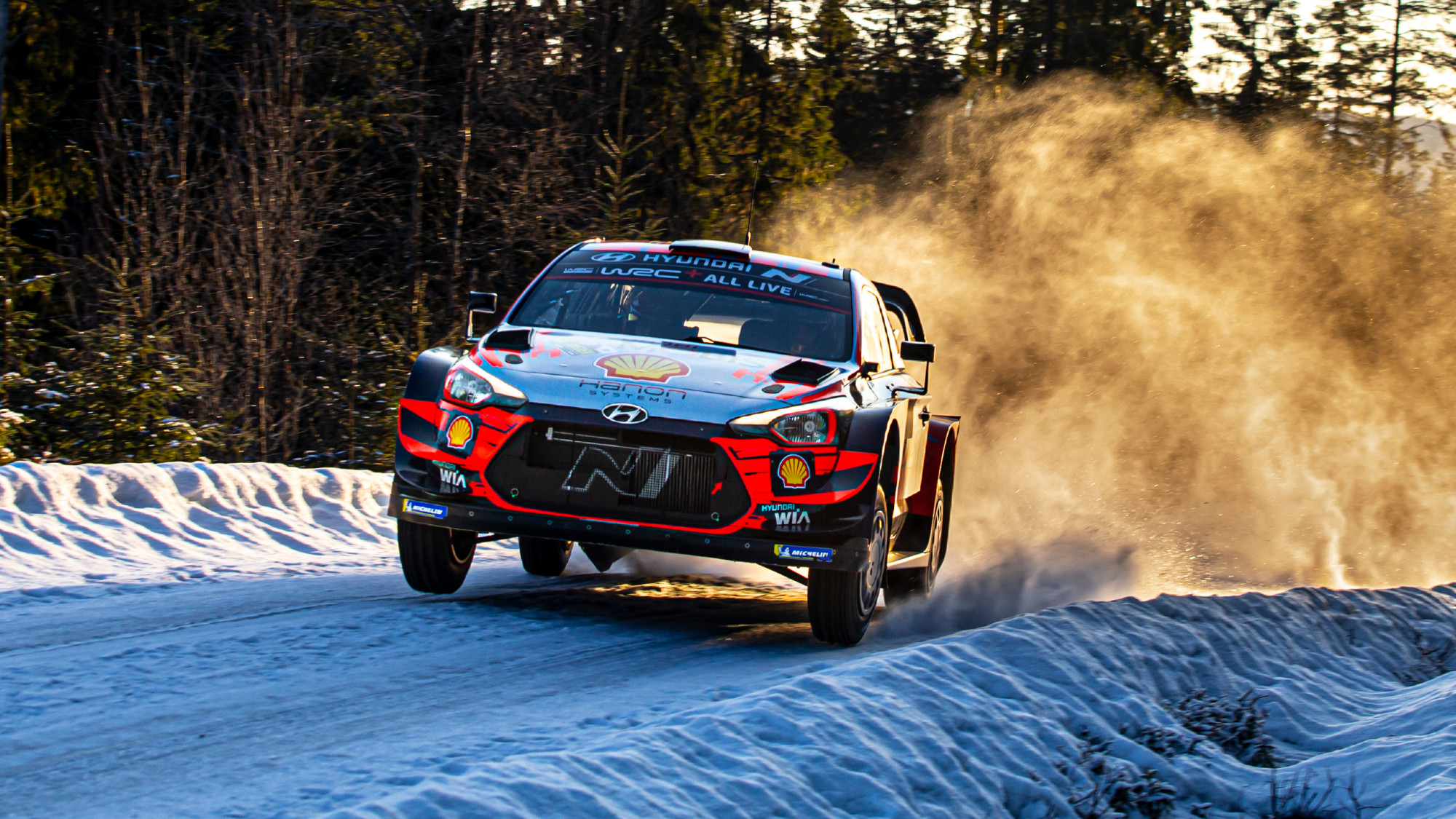 Thierry Neuville, Rally Sweden 2020