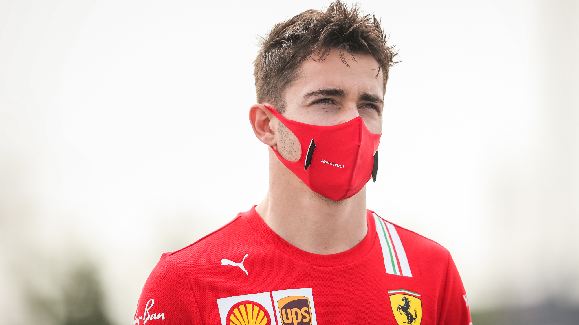 Charles Leclerc tests positive for Covid-19