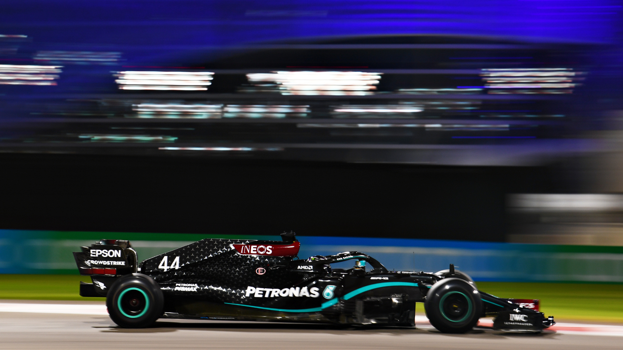 Lewis Hamilton, 2020 Abu Dhabi Grand Prix