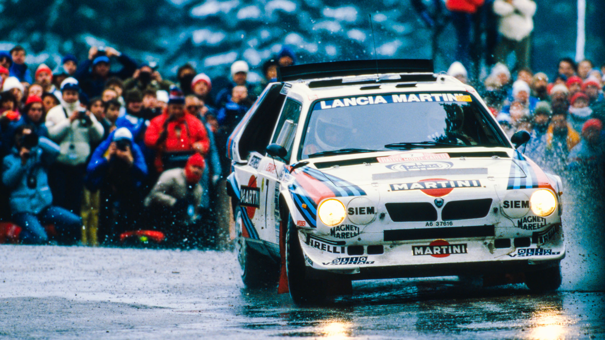 1986 Monte Carlo Rally: How Henri Toivonen won with a Lancia 'shaped like a banana'
