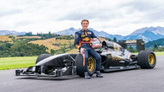 New sponsorship deal for 'extraordinary' F2 talent