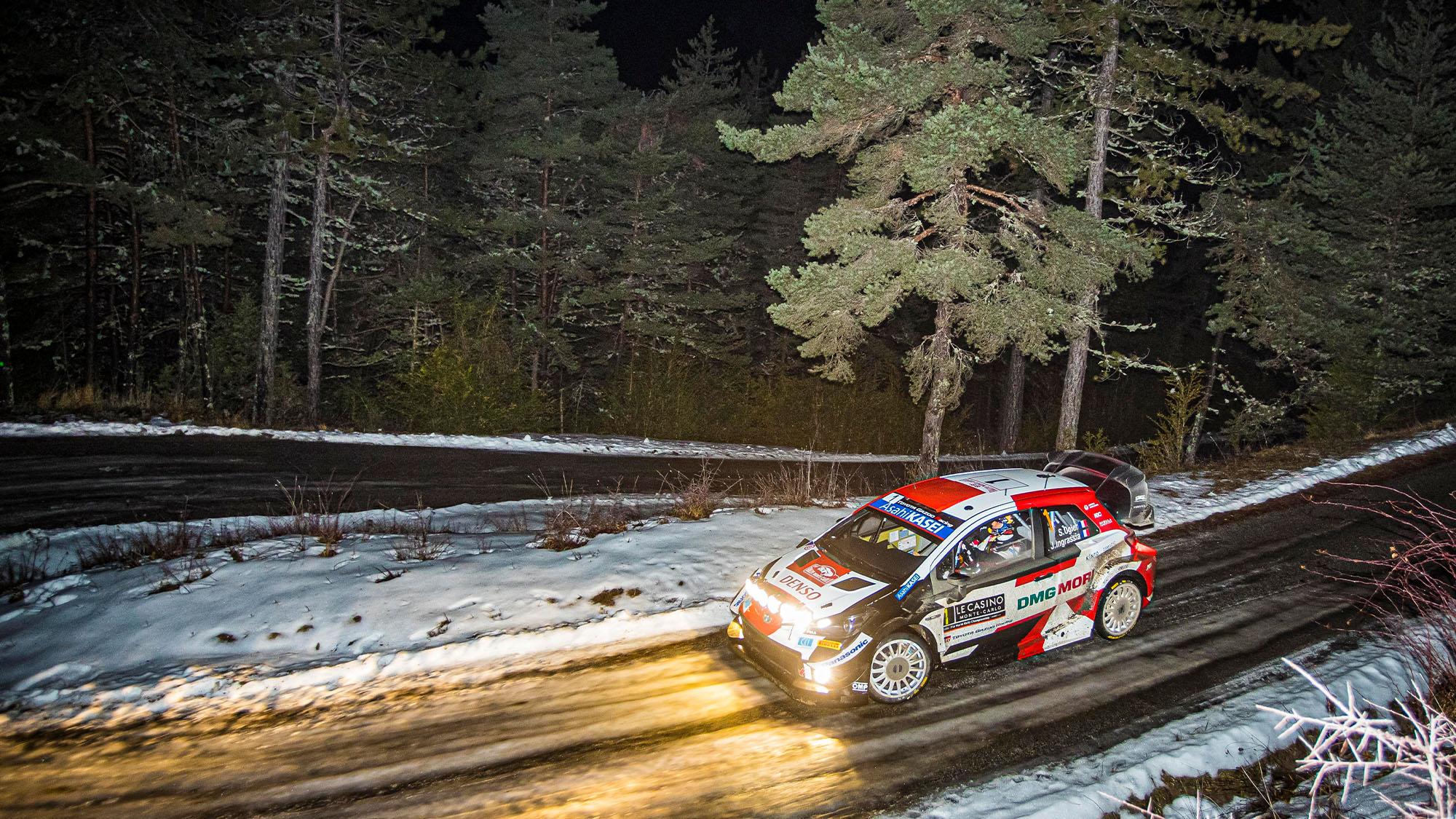 Sebastien Ogier Toyota Monte Carlo Rally 2021
