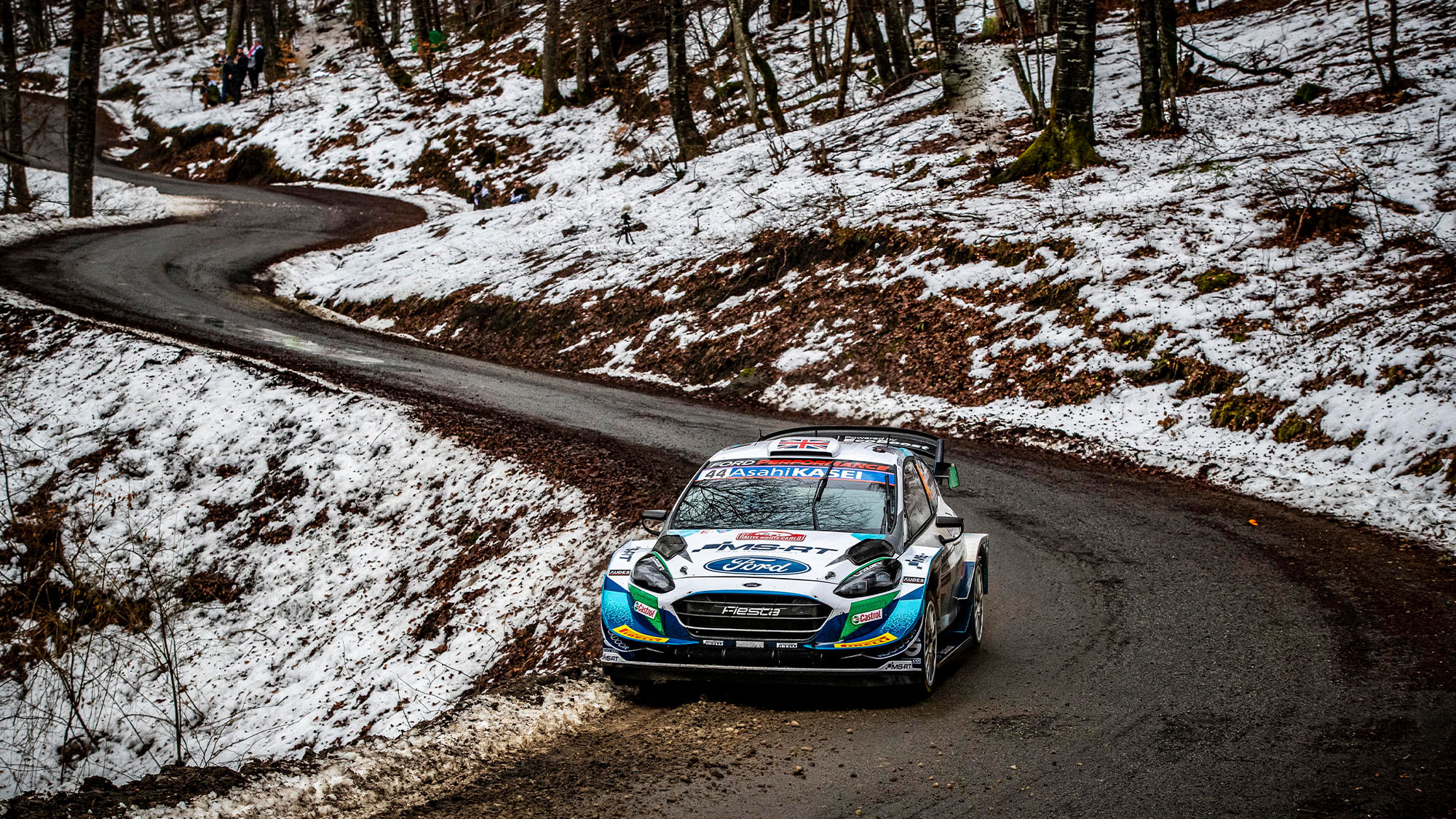 Gus Greensmith 2021 Monte Carlo Rally